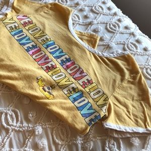 Bright yellow (The Beetles) Tee!!
